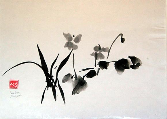 Resultado de imagen de pintura  zen